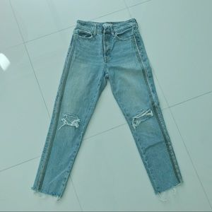 Zara Basic Mom straight Jeans Z1975 Light